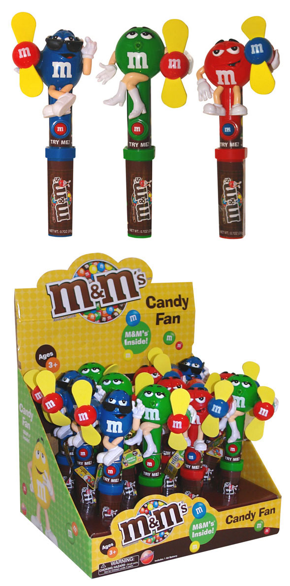 m ampm Character Candy Fan  M And Ms Candy